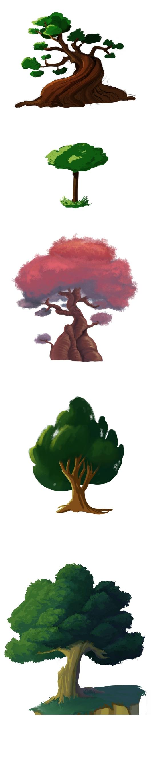 tree styles